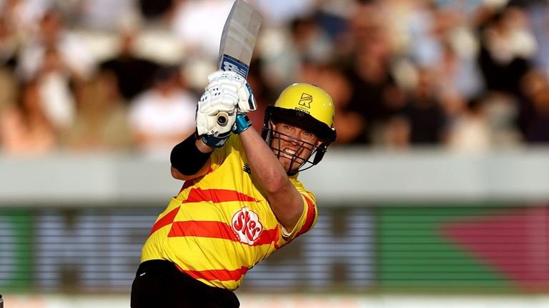 D'Arcy Short took 18 off the final five balls of the Rockets' innings
