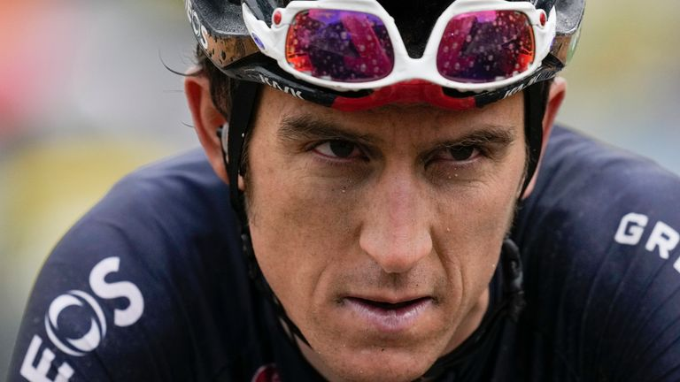 Geraint Thomas is among the British contingent for the men's cycling road race