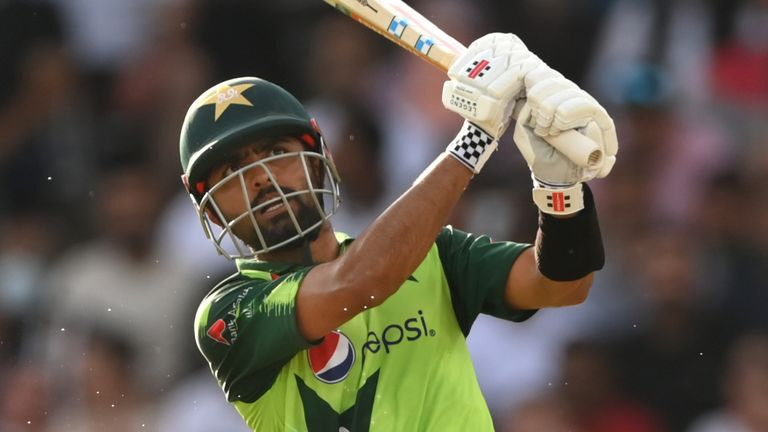 Babar Azam was in top form again for Pakistan as he made 85