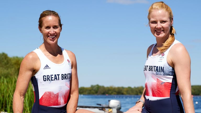 Helen Glover came out of retirement for Tokyo 2020 while Polly Swann has been working as an NHS doctor during the pandemic
