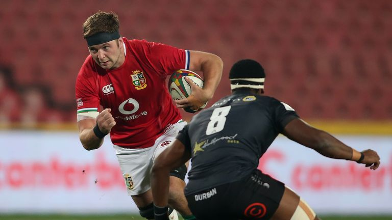 Iain Henderson will be looking to lay down a marker against Eben Etzebeth and Franco Mostert.