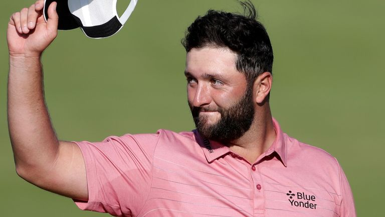 Jon Rahm holds a slender advantage over Dustin Johnson at the top of the world rankings.