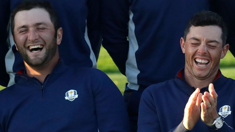 Jon Rahm and Rory McIlroy are both set to feature for Team Europe at the Ryder Cup this September