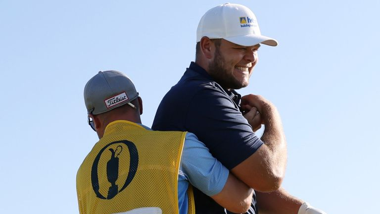 The hole-in-one lifted the Englishman back under par for the tournament