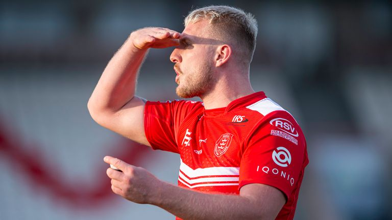 Jordan Abdull was hugely influential for Hull KR, but could not help them avoid slipping to defeat