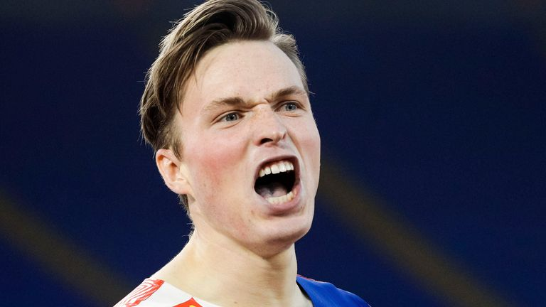 Karsten Warholm has broken the longest-standing world record in men's track