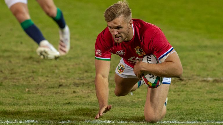 Chris Harris starts his first Test for the British and Irish Lions