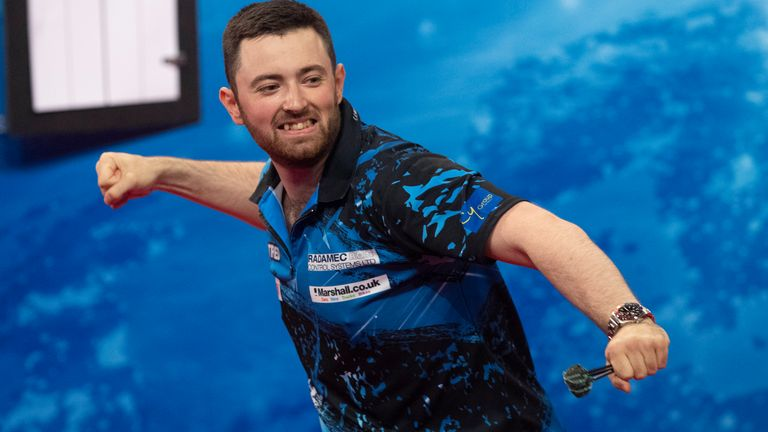 Can Luke Humphries take Ally Pally by storm this Christmas? (Lawrence Lustig/PDC)