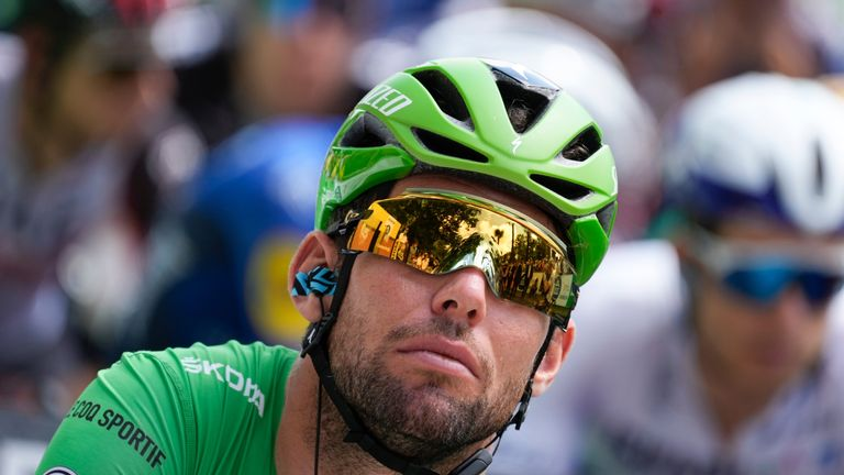 Mark Cavendish is still waiting to win a record 35th career Tour stage win