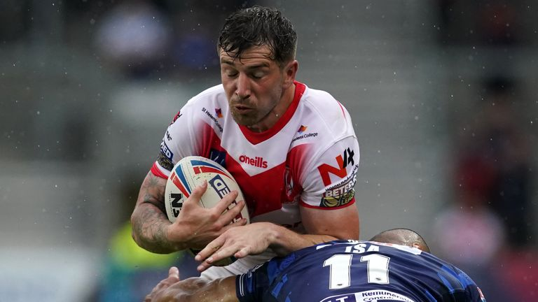Mark Percival made a big impact on his return to the Wigan team