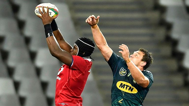 Maro Itoje was one player who stood out for the Lions in the defeat to South Africa 'A'