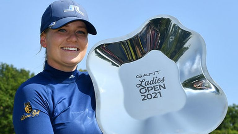 Matilda Castren could feature for Europe's Solheim Cup team this autumn