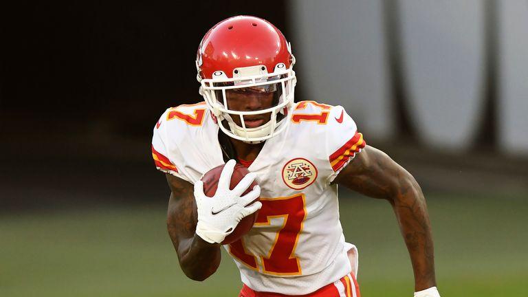 Can Hardman make the No. 2 receiver job his own? (AP)