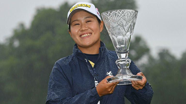 Nasa Hataoka secured victory at the rain-hit Marathon LPGA Classic