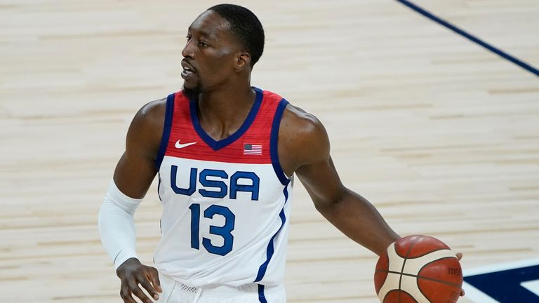 Miami Heat center Bam Adebayo was cut from the 2019 World Cup squad but will be appearing at Tokyo 2020 for Team USA