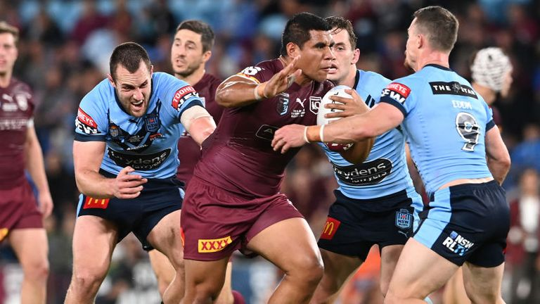 The game was a thoroughly entertaining clash on the Gold Coast, with the lead changing hands in both halves