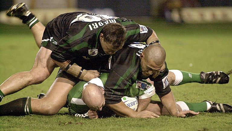 The New Zealand Maori team were part of the 2000 Rugby League World Cup