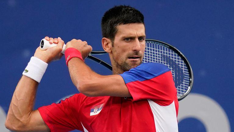 La candidature de Novak Djokovic pour une médaille d'or en simple est tombée en demi-finale