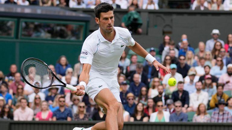 Novak Djokovic is unbeaten at Wimbledon since a quarter-final defeat to Tomas Berdych in 2017