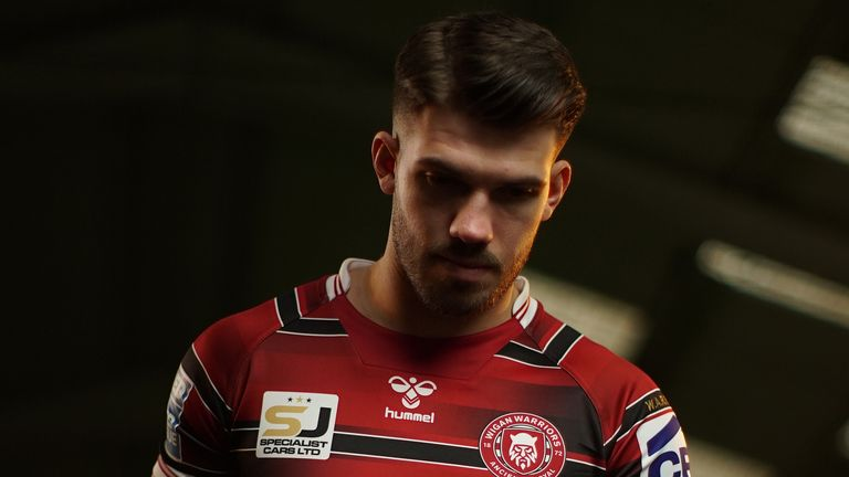 Warriors' 25-year-old Gildart will be making his final home Wigan appearance before departing for the NRL