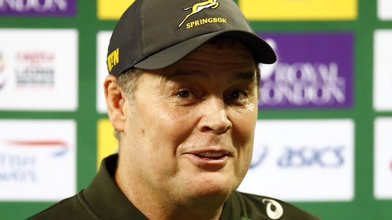South Africa director of rugby Rassie Erasmus has responded to Warren Gatland's recent comments about tackles