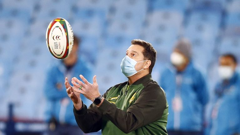 Rassie Erasmus was hoping for a second South Africa 'A' game against the Lions