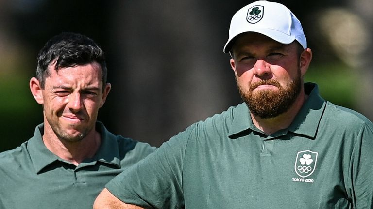 Rory McIlroy and Shane Lowry are in contention to win medals for Team Ireland at the Olympics