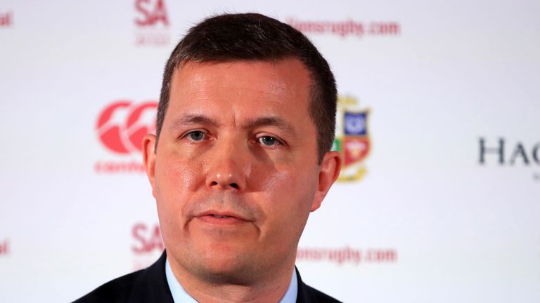 Lions managing director Ben Calveley insists the South Africa tour will continue despite the coronavirus outbreaks