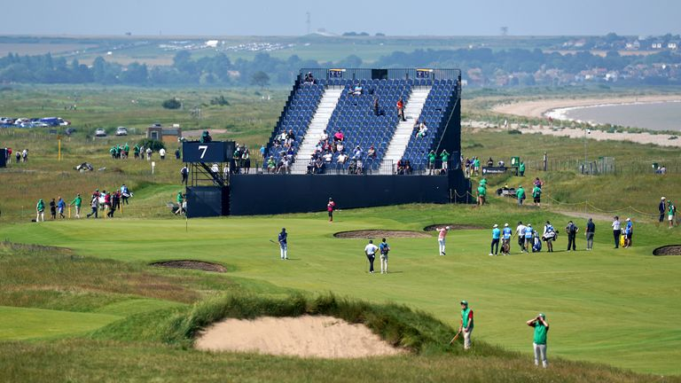 Four-time major winner Rory McIlroy praises this week's Open Championship course at Royal St. George's and believes it will be 'absolutely perfect' for the weekend