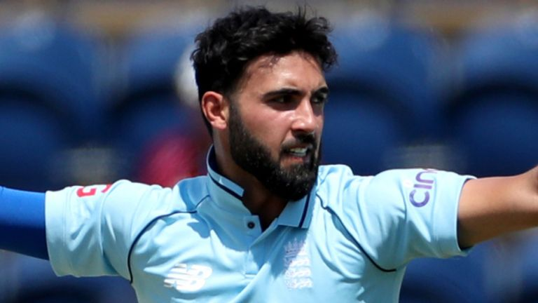 Saqib Mahmood has been called up to the squad after impressing in white-ball cricket for England