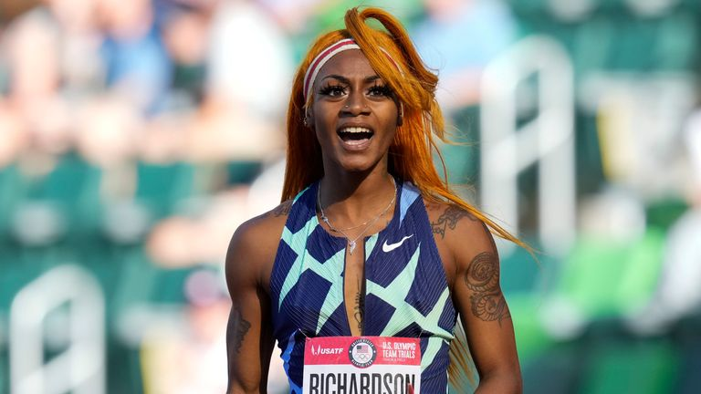 Sha'Carri Richardson missed the Olympics after testing positive for cannabis