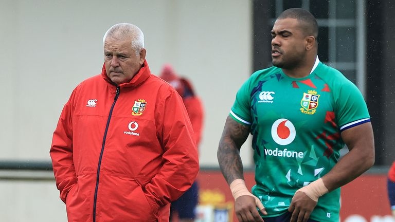 Sinckler says he got a call from an unknown number and thought someone was going to try sell him something when Warren Gatland called him up as an injury replacement