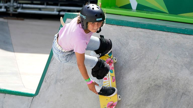 The 13-year-old skateboarder Sky Brown will compete for Great Britain in one of the newly included sports in Olympic Games' programme