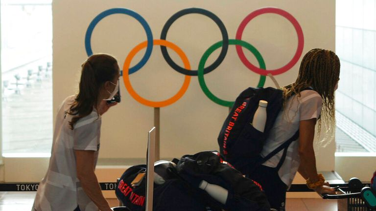 Team GB athletes arrived in Tokyo last week and are ready to begin their adventure at the 2020 Olympic Games