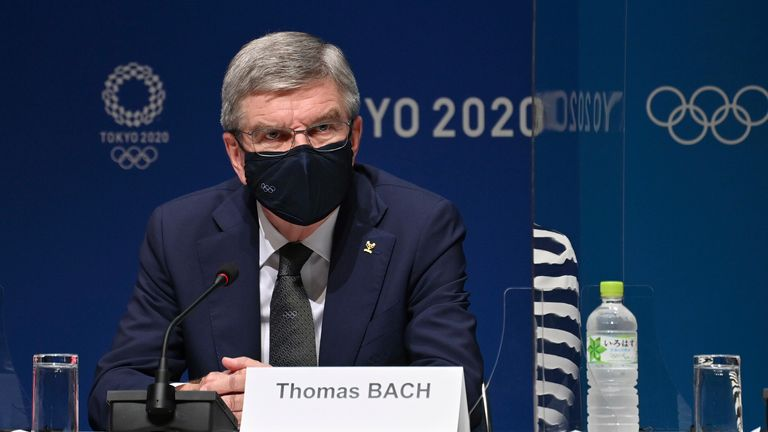 IOC president Thomas Bach believes Brisbane can delivery a positive legacy from hosting the Olympics in 2032