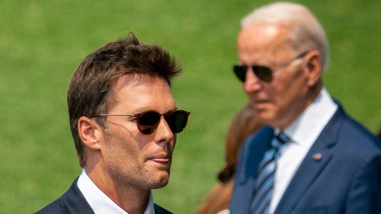 Tom Brady paid Joe Biden a visit at The White House