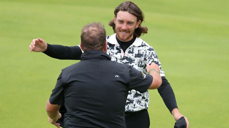Shane Lowry played alongside Tommy Fleetwood during the final round of the 2019 contest