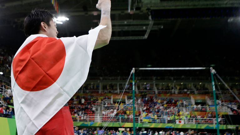 With seven Olympic medals, Kohei Uchimura is one of the greatest gymnasts ever