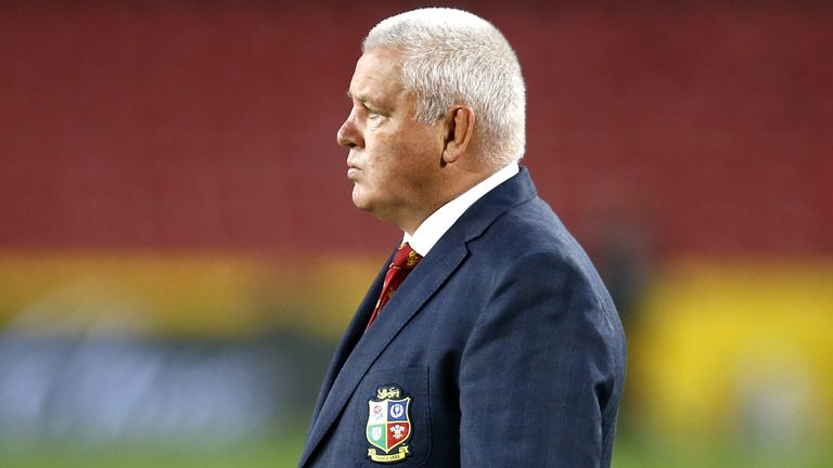 Lions head coach Warren Gatland has sprung a raft of surprises in his first Test selection