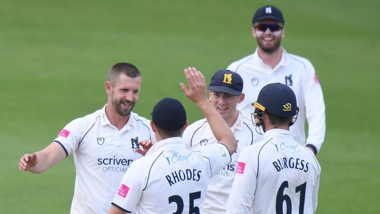 Warwickshire will start the division stage of the County Championship top of the top flight