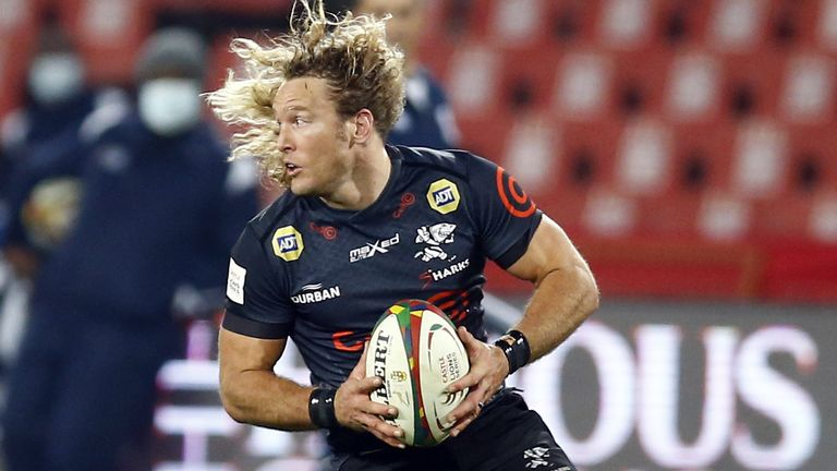 Werner Kok is one of just four players retained by the Sharks from Wednesday's meeting vs the Lions, and moves from wing to centre