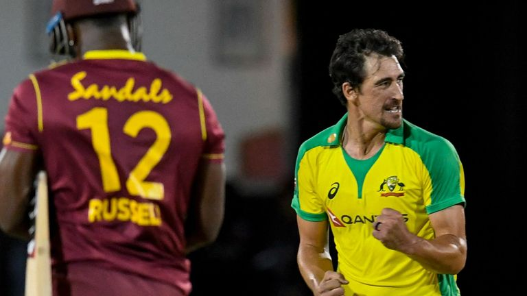Australia currently lead the three-match ODI series, having beaten West Indies by 133 runs in the opening game
