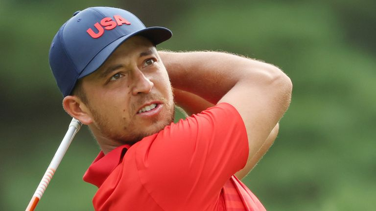 Xander Schauffele equalled the lowest round ever recorded at the Men's Olympic Golf Competition