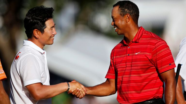 Y.E Yang held off Tiger Woods to win the 2009 PGA Championship
