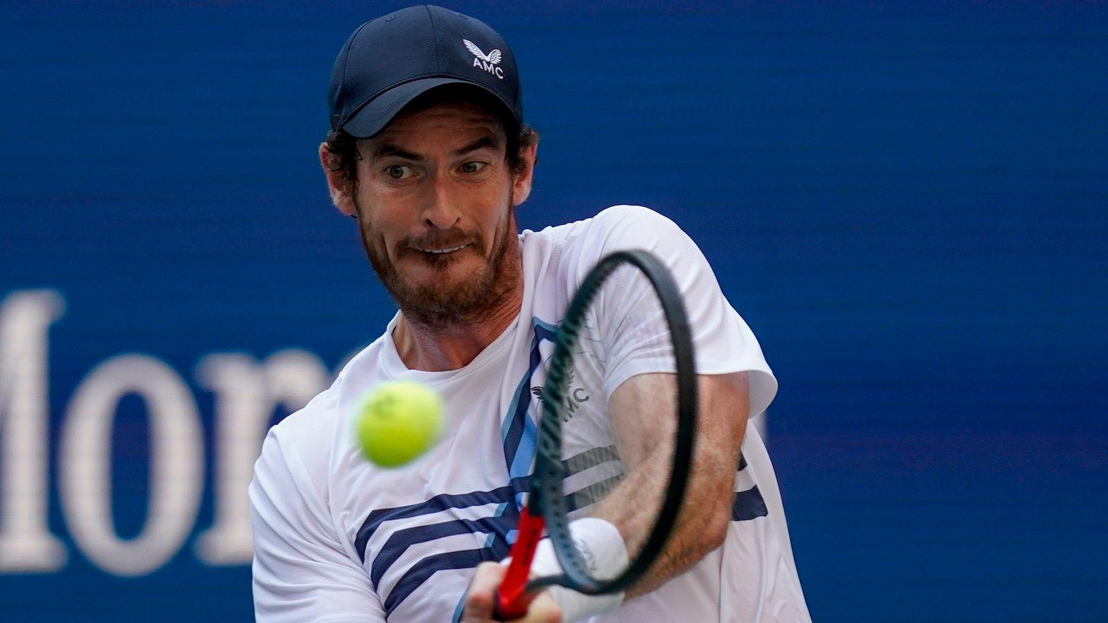 Moselle Open: Andy Murray beats Ugo Humbert in Metz