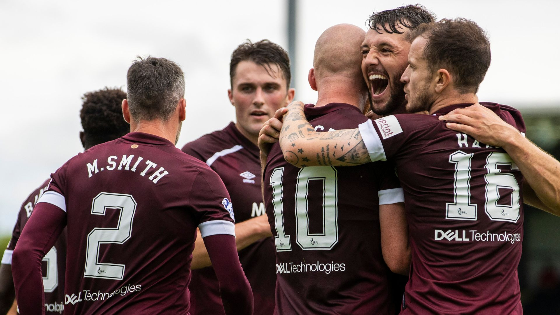 Hearts go top of table after St Mirren win