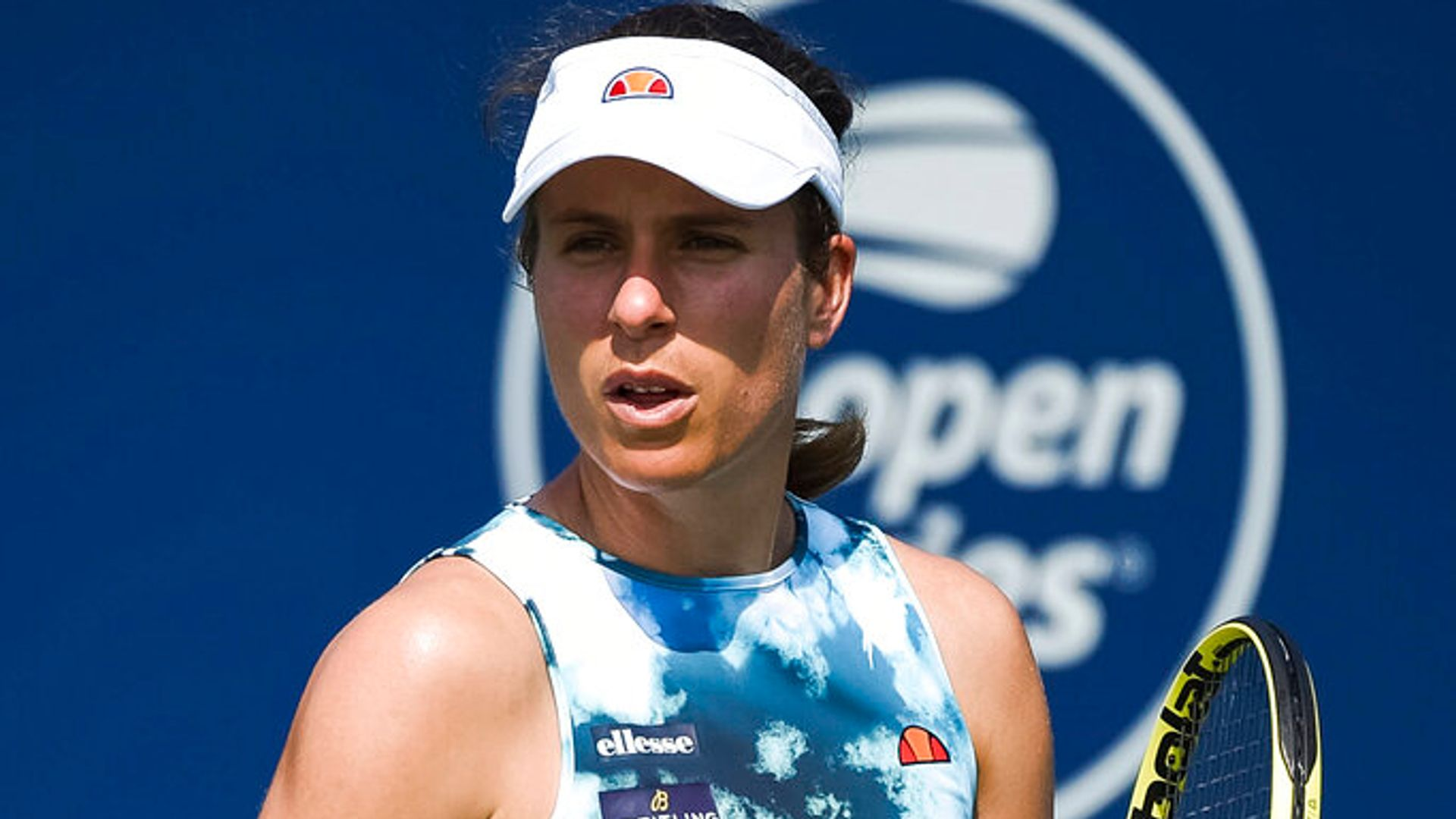 US Open: Johanna Konta forced to withdraw with Emma Raducanu set to face a new opponent on Tuesday
