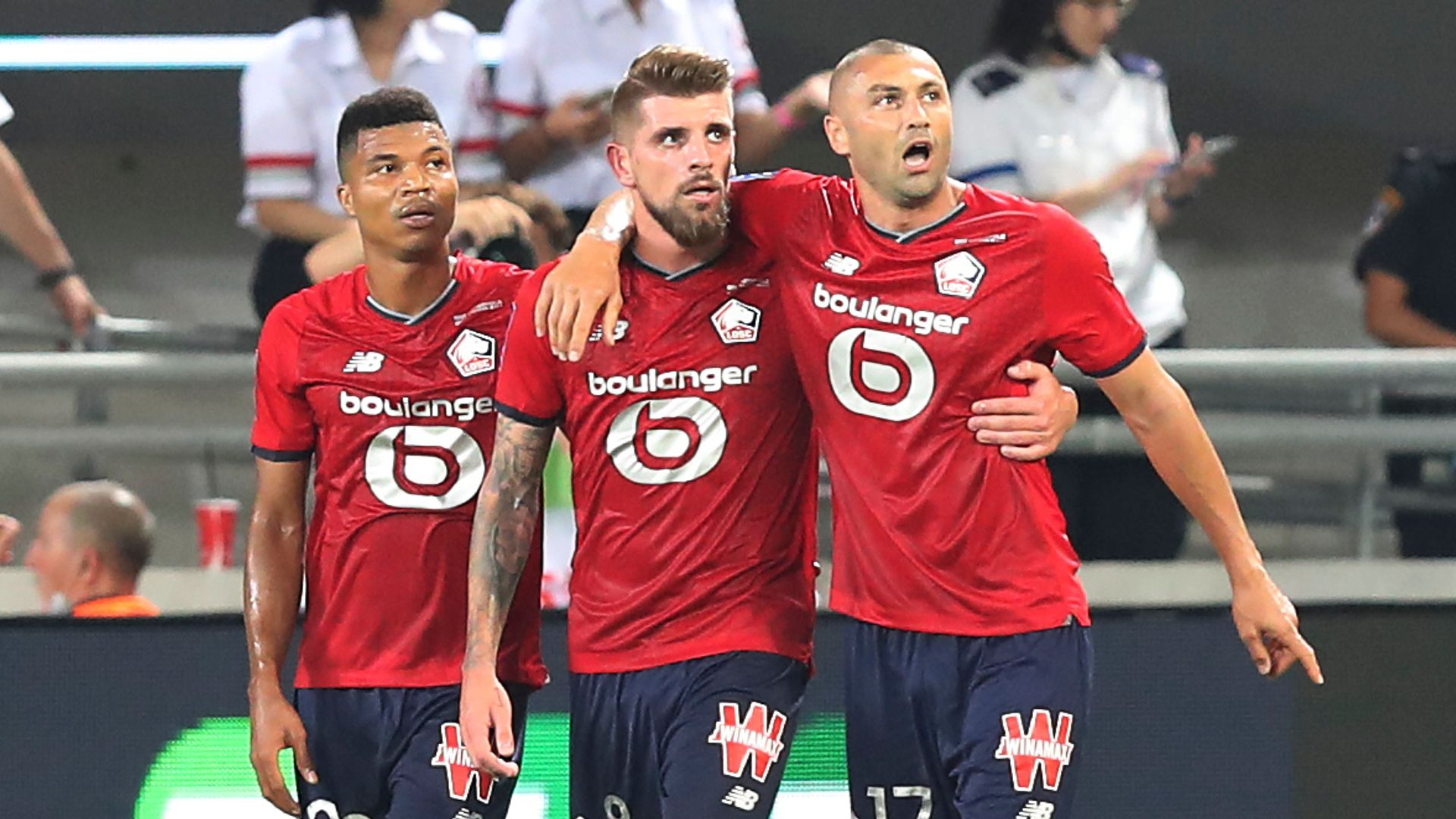 Lille beat PSG to clinch first French Super Cup