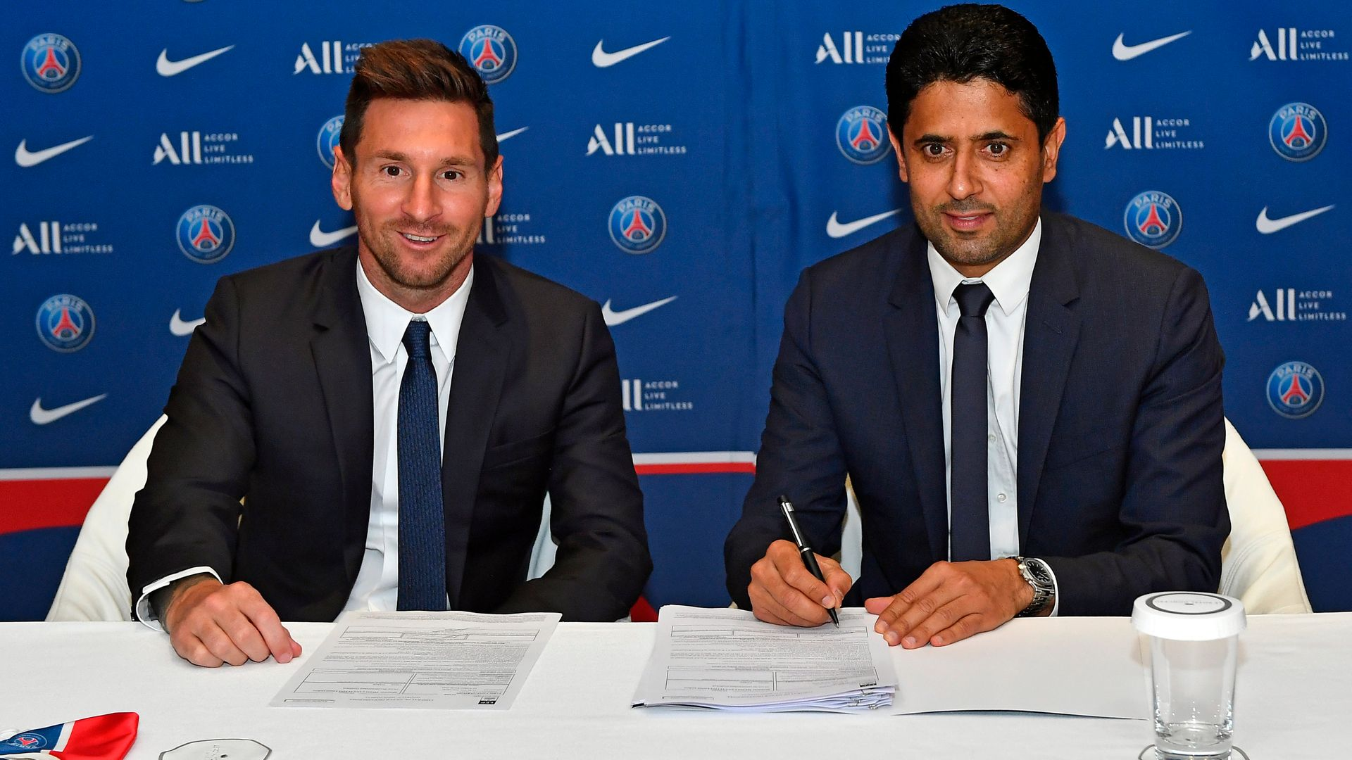 Messi joins PSG on two-year deal