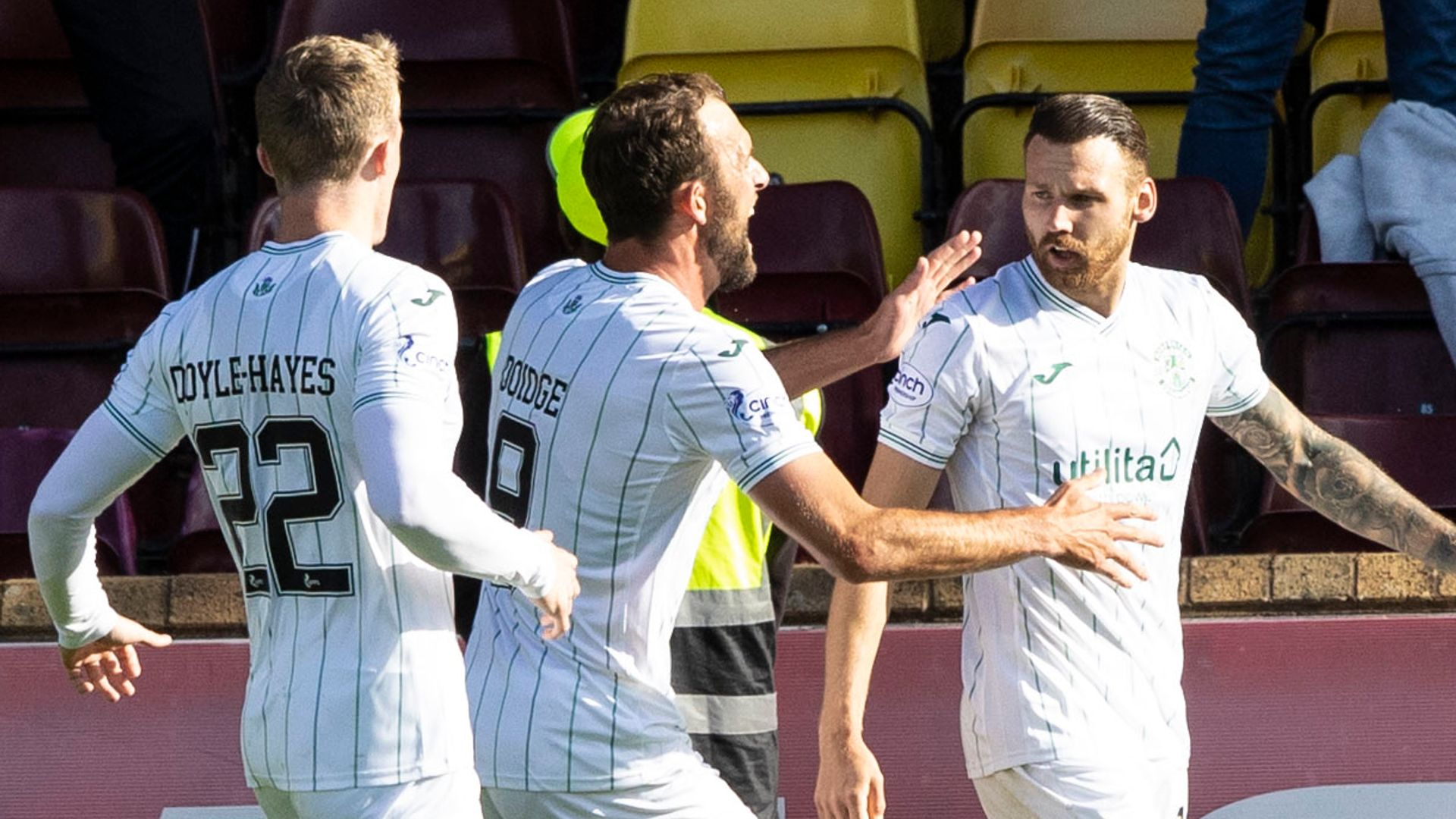 Hibs fight back twice to win five-goal thriller